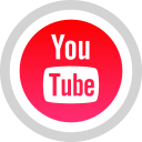 youtube social media logo icon iconscom 59060